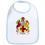 Brooke Family Crest Bib