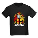 Brooke Family Crest Kids Dark T-Shirt