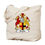 Brooke Family Crest Tote Bag