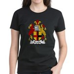 Brooke Family Crest Women's Dark T-Shirt