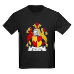 Bromley Family Crest Kids Dark T-Shirt