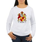 Bromley Family Crest Women's Long Sleeve T-Shirt