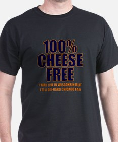 100% Cheese Free - Chi T-Shirt
