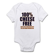 100% Cheese Free - Chi Infant Bodysuit