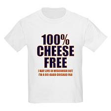 100% Cheese Free - Chi T-Shirt