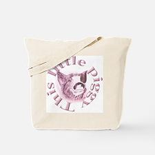 "Plain ""This Little Piggy"" Tote Bag"
