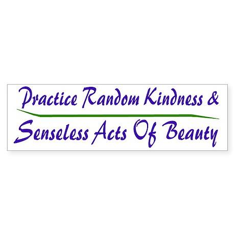 Beauty Bumper Sticker