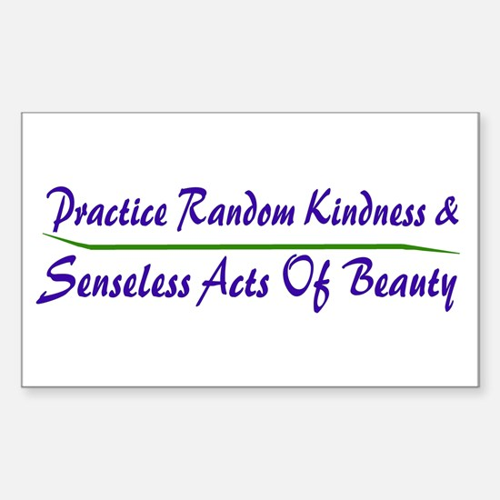 Beauty Rectangle Decal