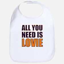 All You need Is Lovie Bib