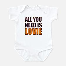 All You need Is Lovie Infant Bodysuit