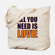All You need Is Lovie Tote Bag