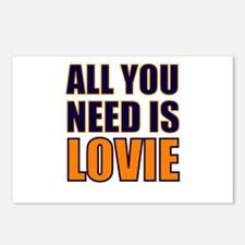 All You need Is Lovie Postcards (Package of 8)
