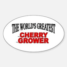 """The World's Greatest Cherry Grower"" Decal"