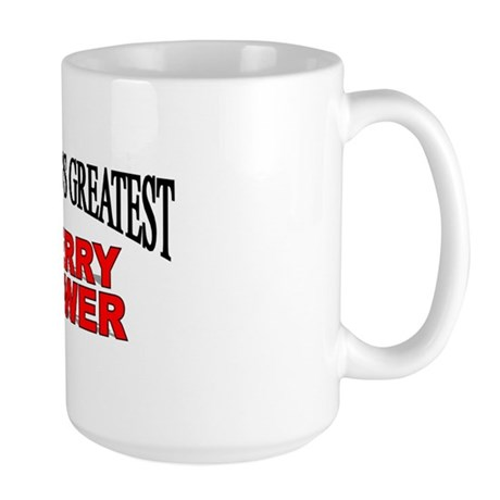 """The World's Greatest Cherry Grower"" Large Mug"