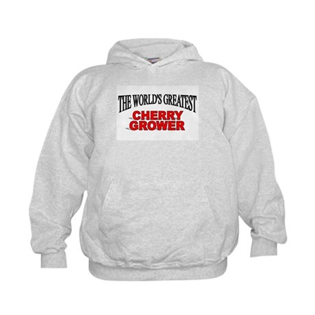 """The World's Greatest Cherry Grower"" Kids Hoodie"