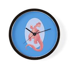 Brontosaurus Stomp Wall Clock