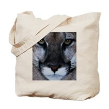 Panther Face Tote Bag