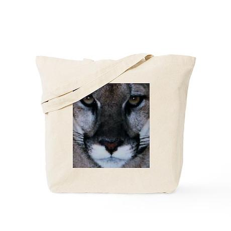 Panther Face Tote Bag