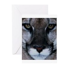 Panther Face Greeting Cards (Pk of 10)