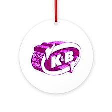 K & B Ornament (Round)