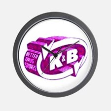 K & B Wall Clock