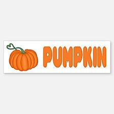 Pumpkin Bumper Bumper Bumper Sticker