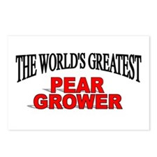 """""""The World's Greatest Pear Grower"""" Postcards (Pack"""
