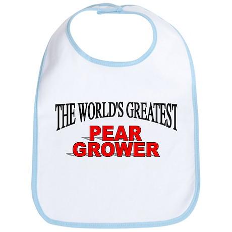 """The World's Greatest Pear Grower"" Bib"