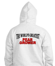 """""""The World's Greatest Pear Grower"""" Hoodie"""
