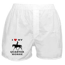 I Heart My Quarter Horse Boxer Shorts