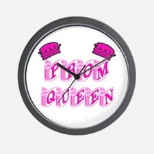Prom Queen Wall Clock