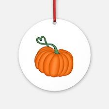 Pumpkin Ornament (Round)