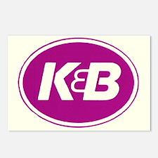 K&B Postcards (Package of 8)
