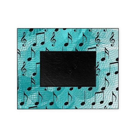 Music notes Picture Frame by listing-store-73261161