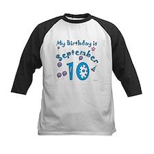 September 10th Birthday Tee