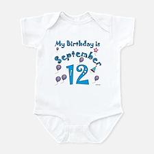 September 12th Birthday Infant Bodysuit