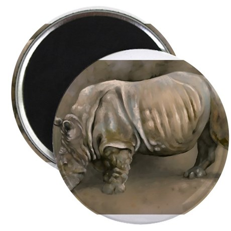 Old Rhino Magnet