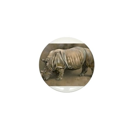 Old Rhino Mini Button (100 pack)