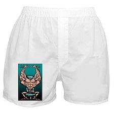 Steroid boy Boxer Shorts
