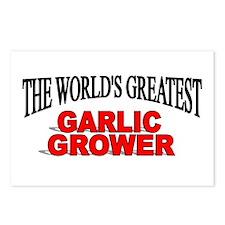 """The World's Greatest Garlic Grower"" Postcards (Pa"