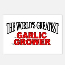 """The World's Greatest Garlic Grower"" Postcards (Pa"