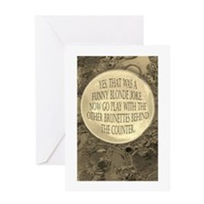 Unique Counter Greeting Card