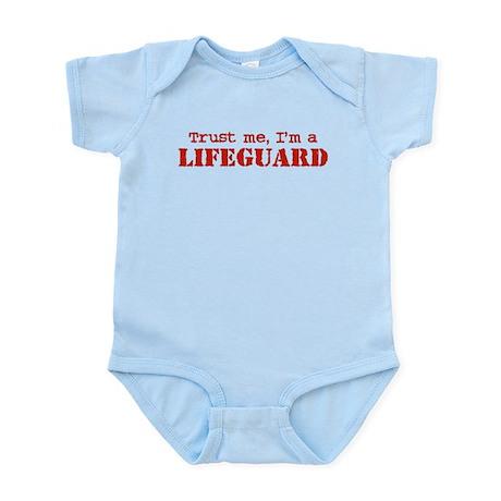 Trust Me I'm a Lifeguard Infant Bodysuit