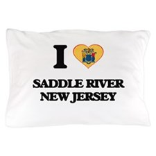 I love Saddle River New Jersey Pillow Case