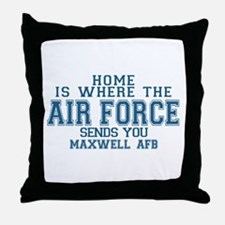 Uss john c stennis Throw Pillow