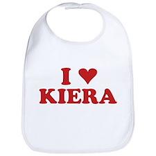 I LOVE KIERA Bib
