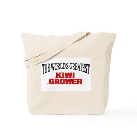 """The World's Greatest Kiwi Grower"" Tote Bag"