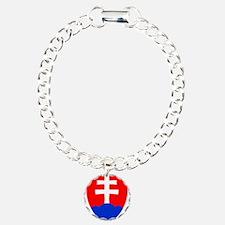 Slovakia Ice Hockey Embl Bracelet