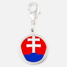 Slovakia Ice Hockey Emblem - Slovak Republi Charms