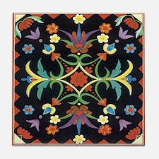 Folkart Tile Coaster